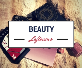 Beauty Leftovers: 5 Beauty Products I'm Finally Getting To Know